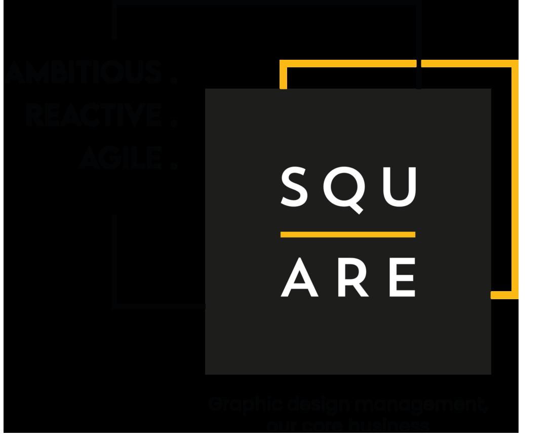 Ambitious. Reactive. Agile. Graphic design management, our core business.